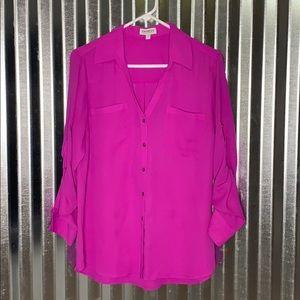 Purple Express Portofino blouse